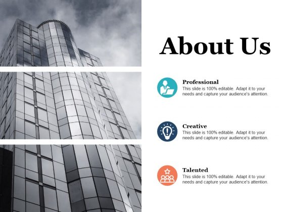 About Us Company Ppt PowerPoint Presentation Show