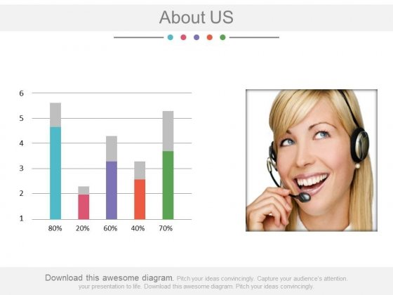 About Us Companys Data Information Powerpoint Slides