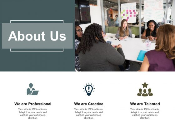 About Us Creative Ppt PowerPoint Presentation Portfolio Infographic Template