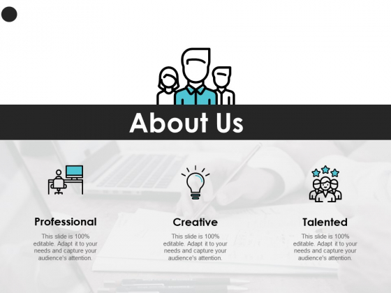 About Us Creative Professional Ppt PowerPoint Presentation Example 2015