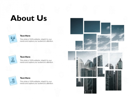 about us management ppt powerpoint presentation icon