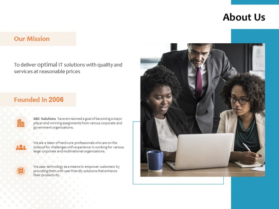 About Us Our Mission Ppt PowerPoint Presentation Inspiration Themes