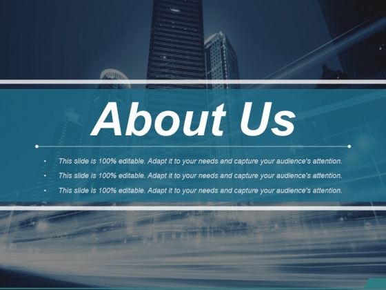 About Us Ppt PowerPoint Presentation File Layout