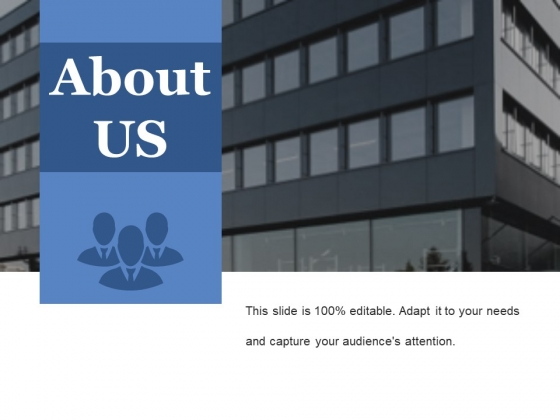 About Us Ppt PowerPoint Presentation Gallery Master Slide
