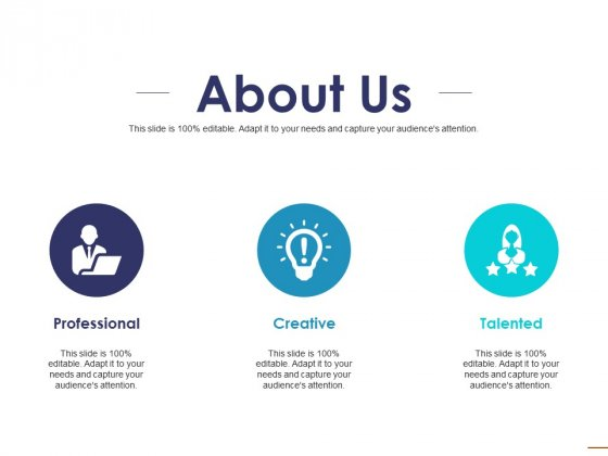 About Us Ppt PowerPoint Presentation Infographics Example