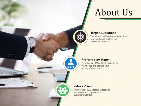 About Us Ppt PowerPoint Presentation Inspiration Structure