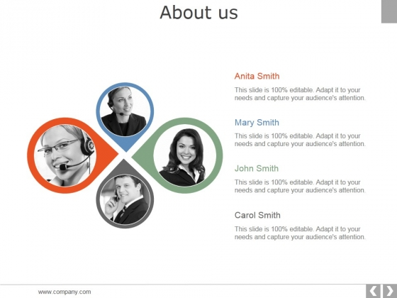 About Us Ppt PowerPoint Presentation Model Example Topics