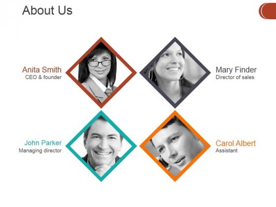 About Us Ppt PowerPoint Presentation Outline Design Ideas