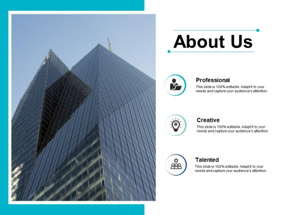 About Us Ppt PowerPoint Presentation Pictures Format Ideas