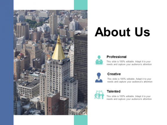 About Us Ppt PowerPoint Presentation Professional Layout Ideas