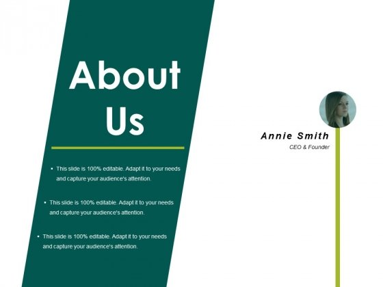 About Us Ppt PowerPoint Presentation Show Topics