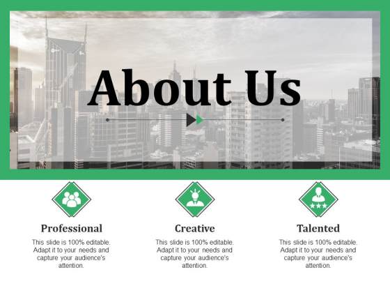 About Us Ppt PowerPoint Presentation Slides Guidelines
