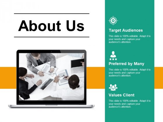 About Us Ppt PowerPoint Presentationmodel Brochure
