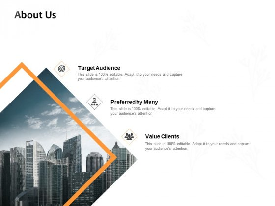 About Us Preferred By Many Ppt PowerPoint Presentation Infographic Template Aids