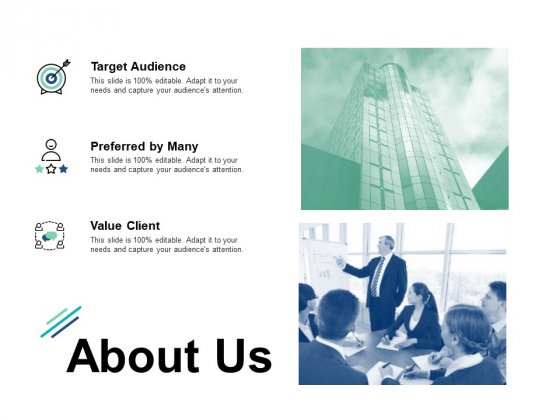 About Us Preferred By Many Ppt PowerPoint Presentation Summary Graphics Design