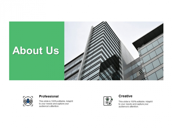 About Us Professional Ppt PowerPoint Presentation Portfolio Designs Download