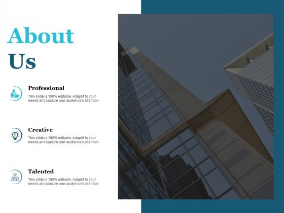 About Us Talented Ppt PowerPoint Presentation File Example File