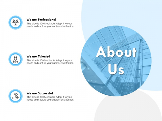 About Us Talented Ppt PowerPoint Presentation Inspiration Elements