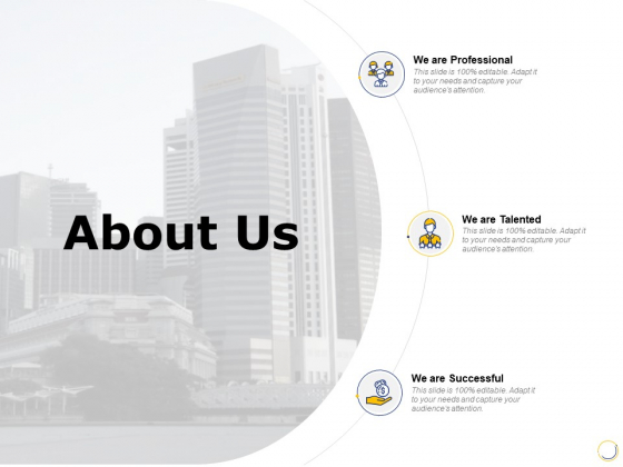 About Us Talented Ppt PowerPoint Presentation Samples