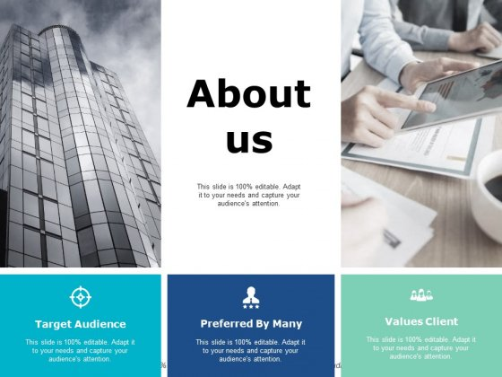 About Us Target Audience Ppt PowerPoint Presentation File Example Topics