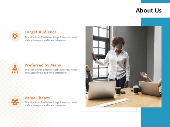 About Us Target Audience Ppt PowerPoint Presentation File Graphics Pictures