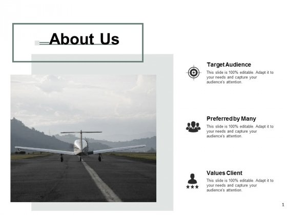 About Us Target Audience Ppt Powerpoint Presentation File Ideas