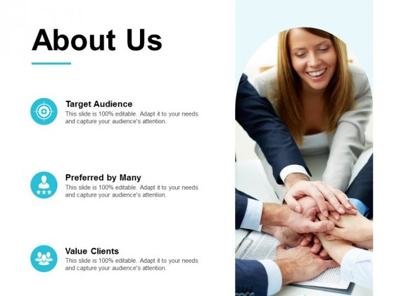 About Us Target Audience Ppt PowerPoint Presentation Icon Background Image