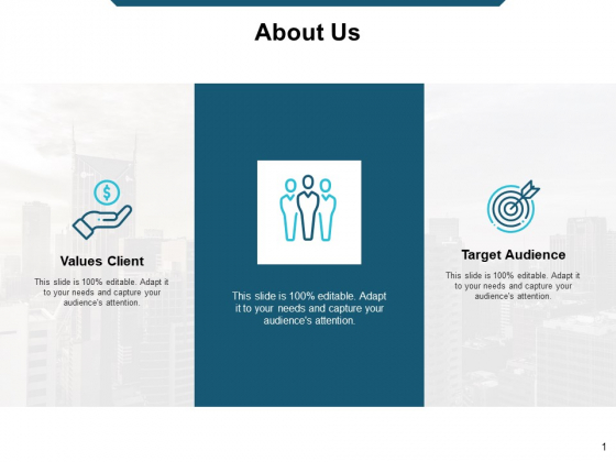 About Us Target Audience Ppt Powerpoint Presentation Outline Show