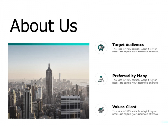 About Us Target Audiences Ppt PowerPoint Presentation File Mockup