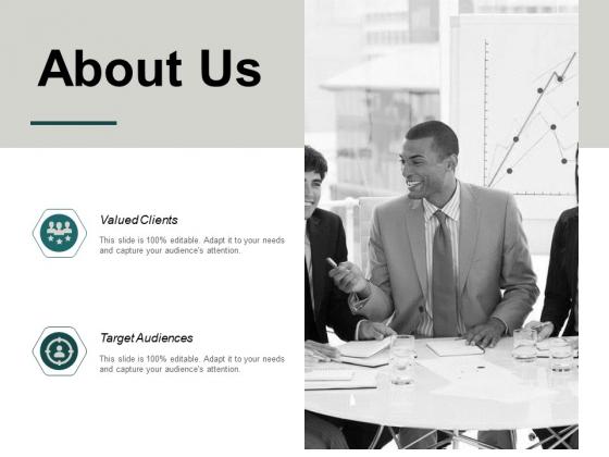 About Us Target Audiences Ppt PowerPoint Presentation Ideas Designs