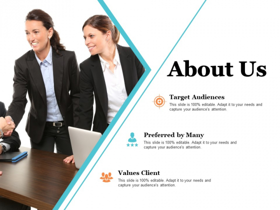 About Us Target Audiences Ppt PowerPoint Presentation Model Background Image