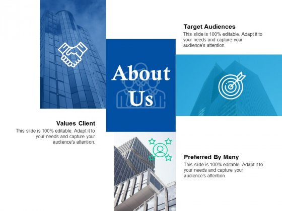 About Us Target Audiences Ppt Powerpoint Presentation Professional Images