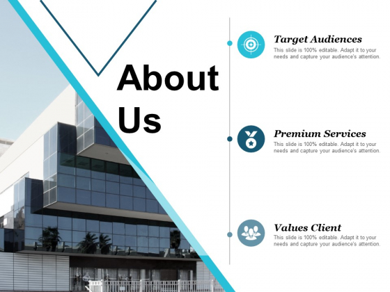 About Us Target Audiences Ppt PowerPoint Presentation Show Background