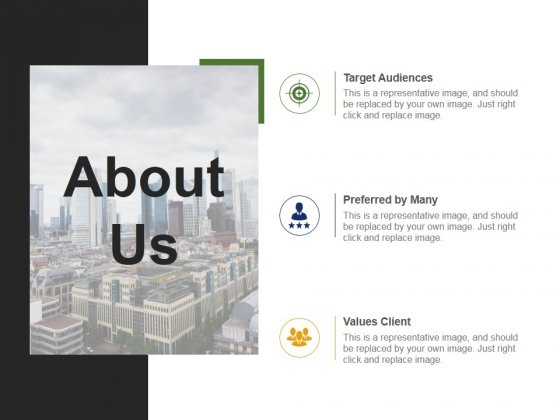 About Us Template 3 Ppt PowerPoint Presentation Show Brochure