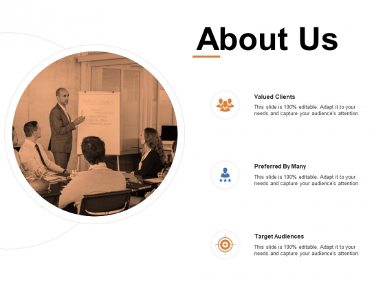 About Us Valud Cleients Ppt PowerPoint Presentation Gallery Ideas