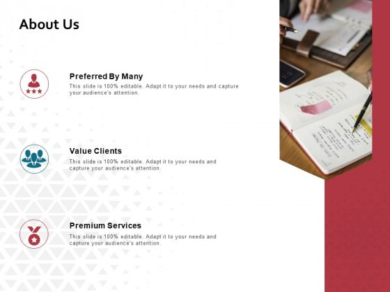 About Us Value Clients Ppt PowerPoint Presentation Inspiration Ideas