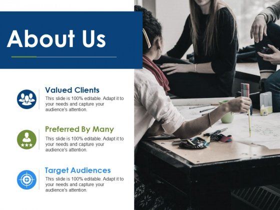 About Us Valued Clients Ppt PowerPoint Presentation Ideas Pictures