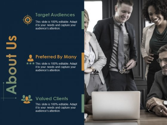 About Us Valued Clients Ppt PowerPoint Presentation Show Clipart Images