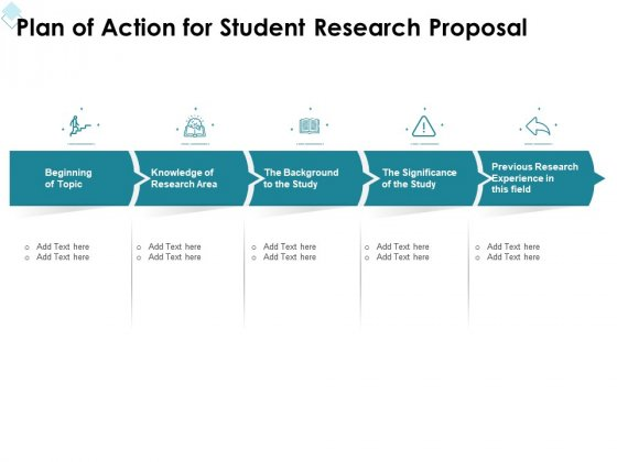Academic Investigation Plan Of Action For Student Research Proposal Ppt Styles Slide PDF