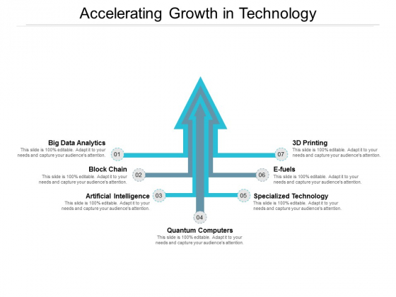 Accelerating Growth In Technology Ppt PowerPoint Presentation Model Summary