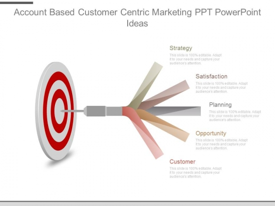 Account Based Customer Centric Marketing Ppt Powerpoint Ideas