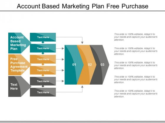 Account Based Marketing Plan Free Purchase Agreement Template Ppt PowerPoint Presentation Show Graphics Design