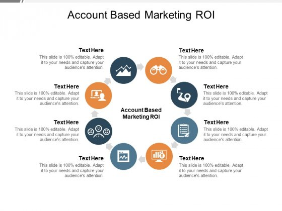 Account Based Marketing ROI Ppt PowerPoint Presentation Infographic Template Sample Cpb Pdf