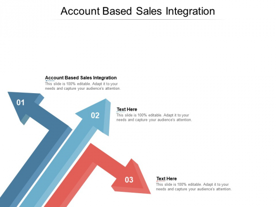 Account Based Sales Integration Ppt PowerPoint Presentation Styles Clipart Cpb