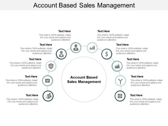 Account Based Sales Management Ppt PowerPoint Presentation Gallery Topics Cpb
