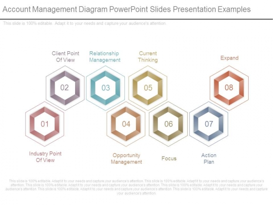 Account Management Diagram Powerpoint Slides Presentation Examples