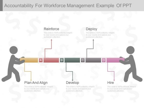 Accountability For Workforce Management Example Of Ppt