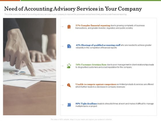 Accounting Advisory Services For Organization Need Of Accounting Advisory Services In Your Company Structure PDF
