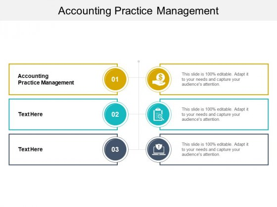 Accounting Practice Management Ppt PowerPoint Presentation Outline Format Cpb Pdf