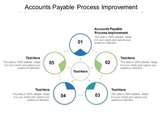 Accounts Payable Process Improvement Ppt PowerPoint Presentation Show Cpb